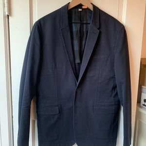 Burberry unstructured cotton sport coat/blazer